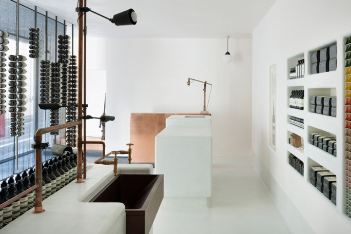 aesop store by simplicity kyoto japan retail design blog