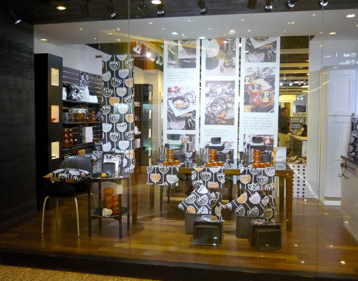In 2010  AINO extended its product range in retail to also include cooking   dining  and entertaining accessories  offerred through AINO Living stores. Aino Living Store  Malaysia   Retail Design Blog