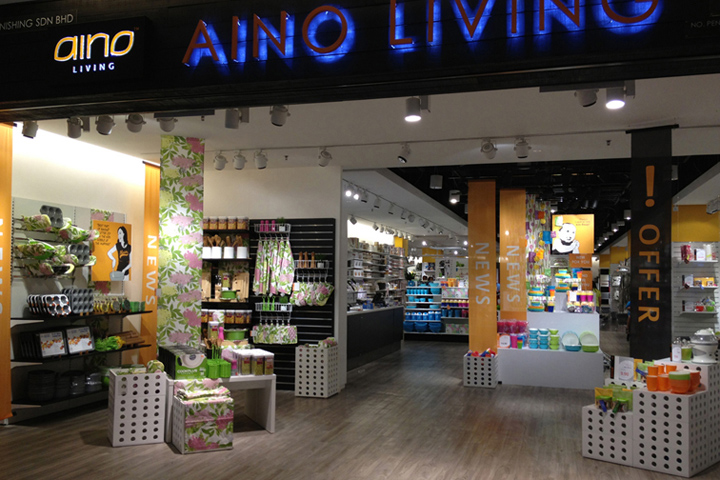 Home Living Shop aino living store malaysia retail design