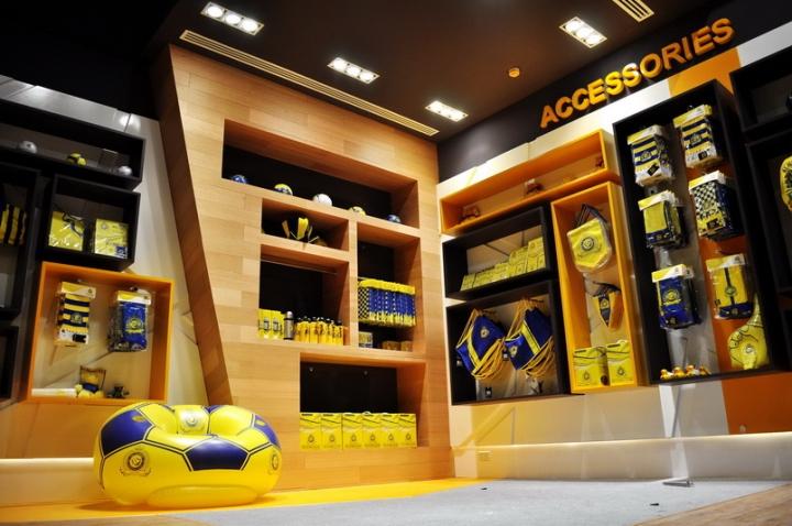 187 Al Nassr Retail Store By Redesign Group Riyadh Saudi