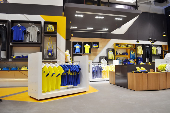 Al Nassr Retail Store By Redesign Group Riyadh Saudi Arabia