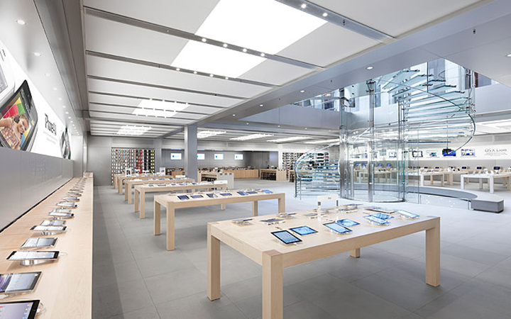 Mobile stores apple store by bohlin cywinski jackson new for Interior architecture jobs in new york