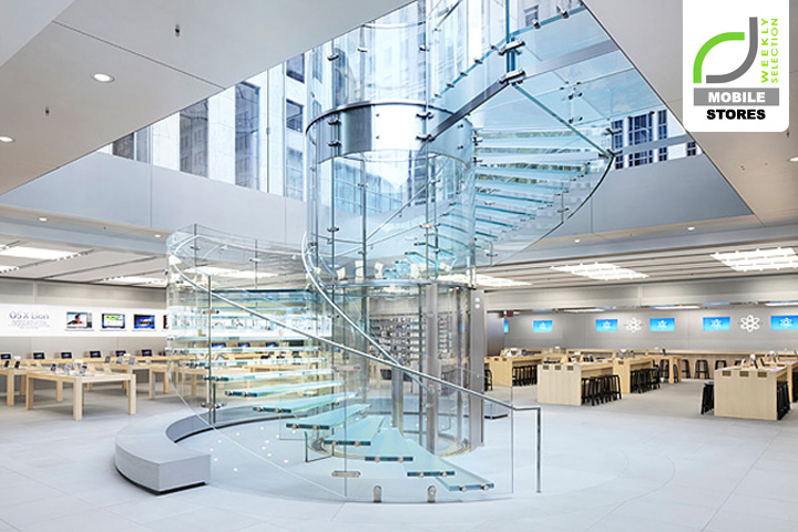 Mobile stores apple store by bohlin cywinski jackson new for Architecture jobs nyc