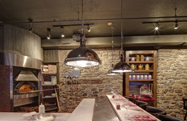 BEVO Bar and Pizzeria by Camdi Design & Bloom Lighting Group ...