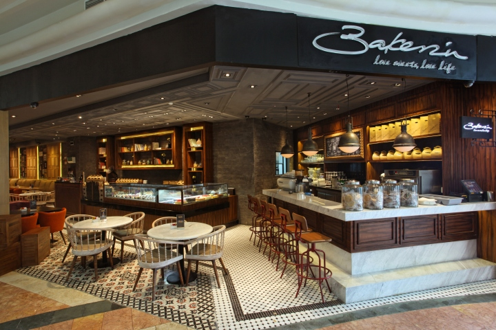 Bakerzin Caf By Jp Concept Jakarta Indonesia Retail