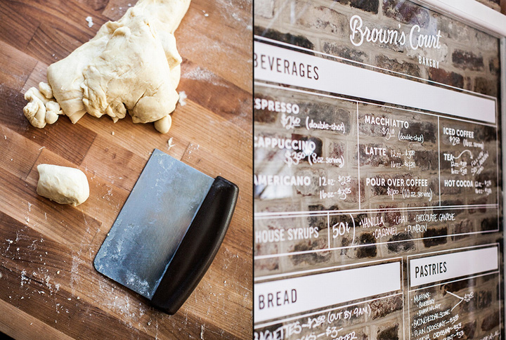 Browns Court Bakery branding by Studio Nudge 03 Browns Court Bakery branding by Studio Nudge