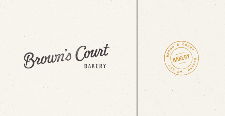 Browns Court Bakery branding by Studio Nudge 06 Browns Court Bakery branding by Studio Nudge