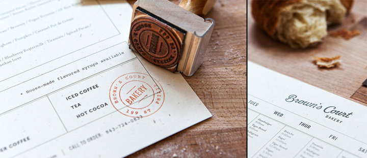 Browns Court Bakery branding by Studio Nudge 09 Browns Court Bakery branding by Studio Nudge
