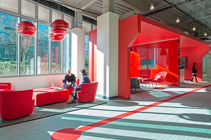 Comcast innovation center by design blitz sunnyvale for Office design for innovation