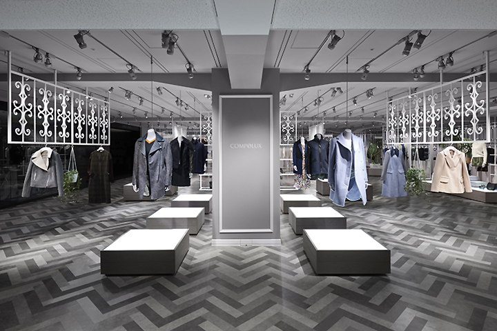 187 Compolux At Seibu Department Store By Nendo Tokyo