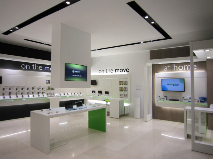 Cosmote mobile store by KVB Design, Athens – Greece » Retail ...