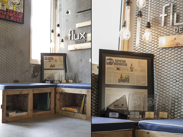 Flux design office by d lux interior jakarta indonesia for Interior design jakarta