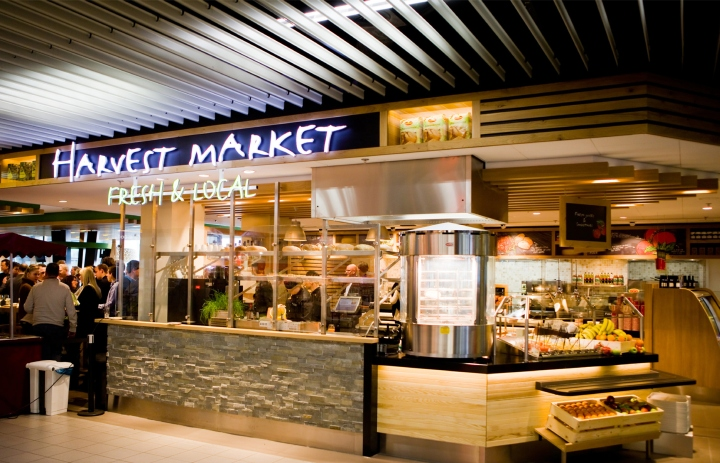 Harvest market restaurant by redesign group amsterdam