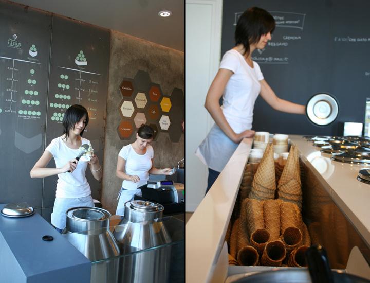 187 Itais Ice Cream Shop By Mas Studio Brescia Italy