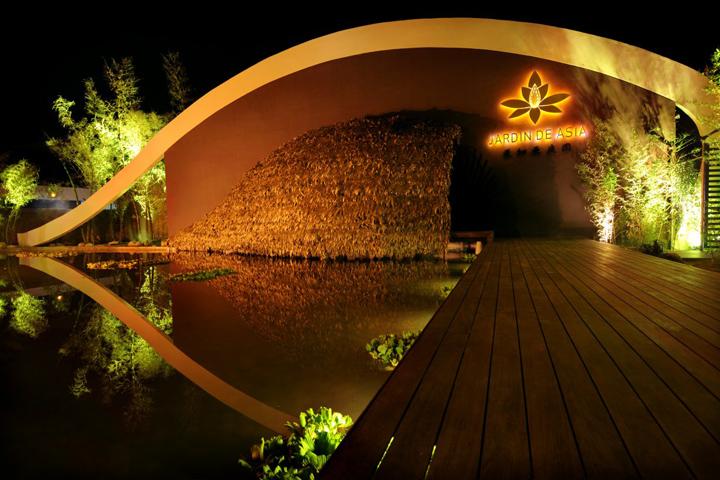 Santa cruz de la sierra retail design blog for La jardin restaurant 2016