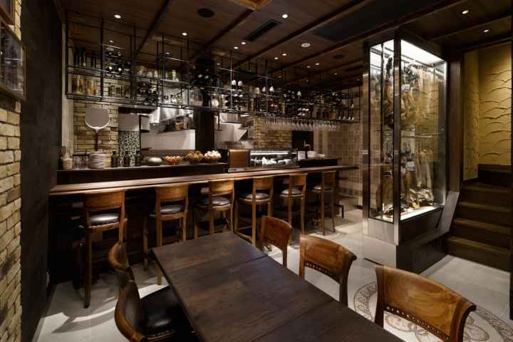 Mar Y Tierra Spanish Cuisine Restaurant By DOYLE COLLECTION Hyogo Japan Retail Design Blog