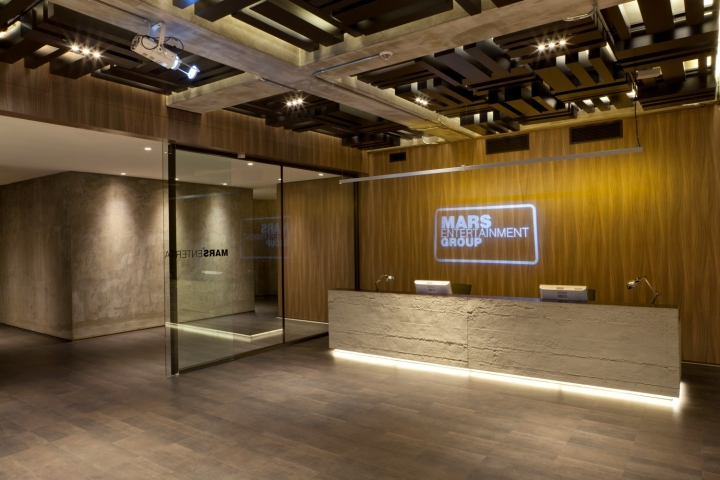 Modern Exhibition Stand Up : Mars entertainment group office by geomim istanbul turkey