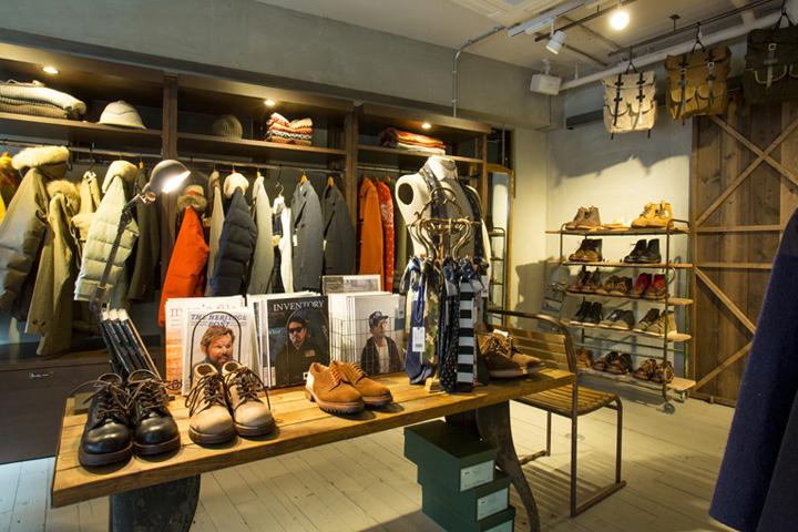 187 Nigel Cabourn Flagship Store Tokyo Japan