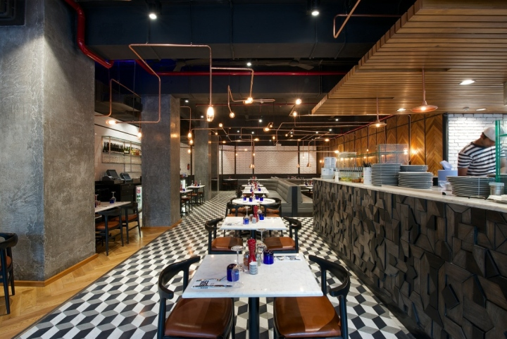 187 Pizzaexpress Restaurant Mumbai India