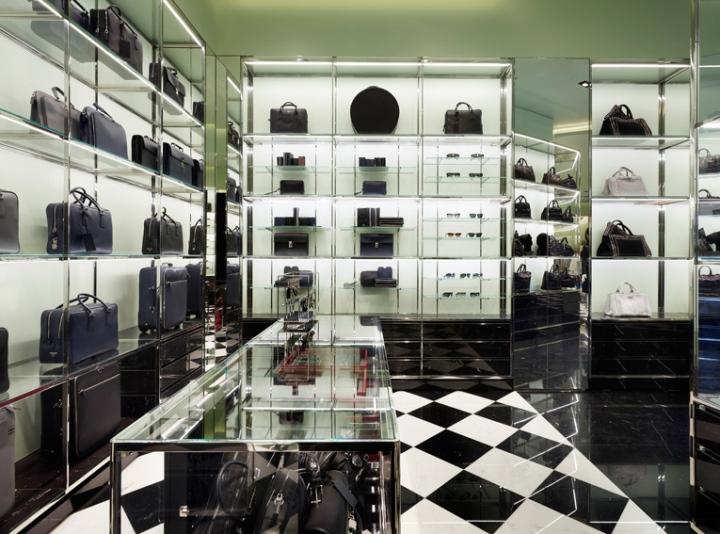 187 Prada Store By Roberto Baciocchi Stockholm Sweden