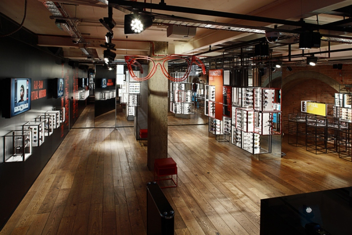 official ray ban shop  ray ban concept store at covent garden by puresang, london