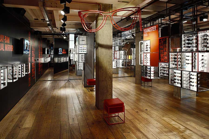 Ray Ban Concept Store at Covent Garden by PureSang, London