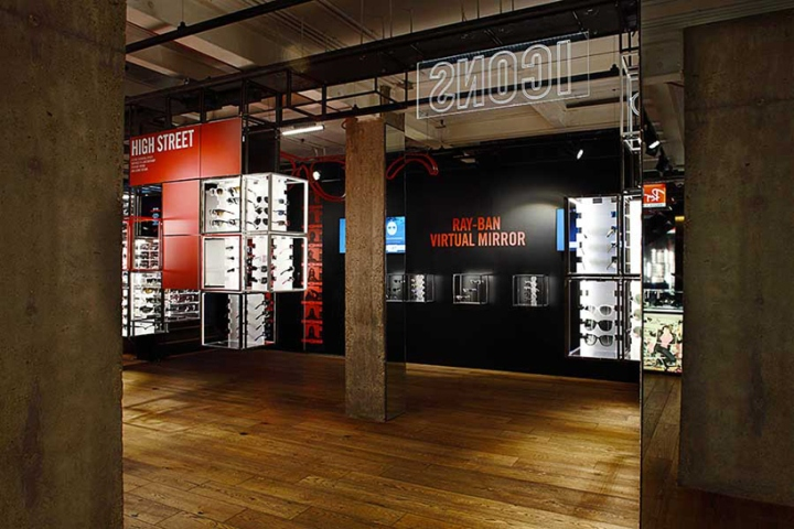 » Ray Ban Concept Store at Covent Garden by PureSang, London 0aa62d6e4936