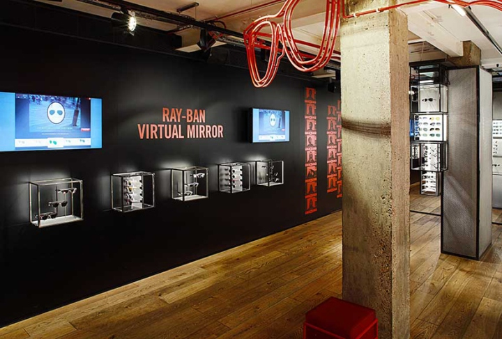 187 Ray Ban Concept Store At Covent Garden By Puresang London