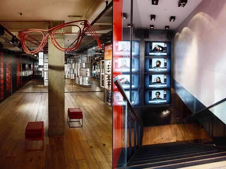 ray ban in stores  ray ban concept store at covent garden by puresang, london