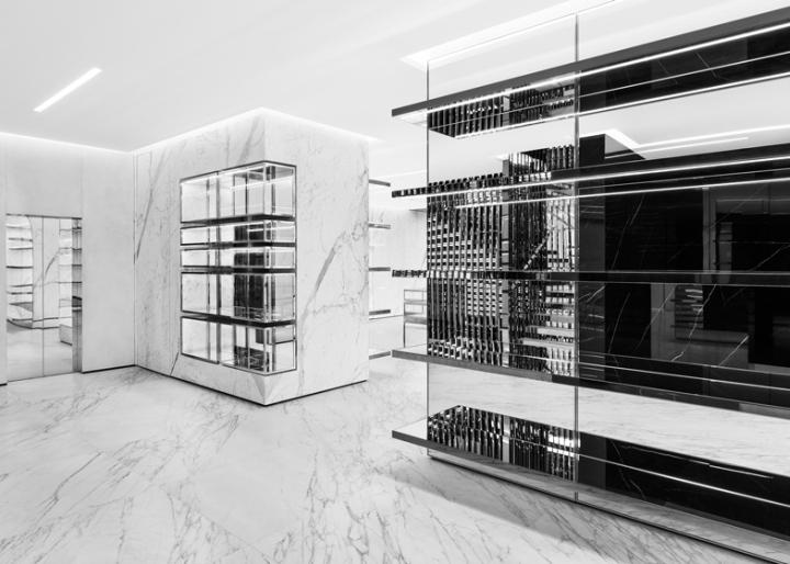 Préférence Saint Laurent store by Hedi Slimane, London » Retail Design Blog BE56