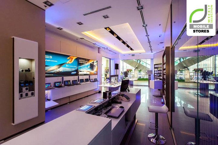 187 Mobile Stores Samsung Experience Store Budapest Hungary