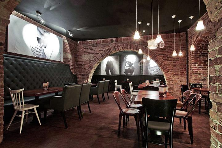 Sofa bar restaurant by kul jelenia góra poland