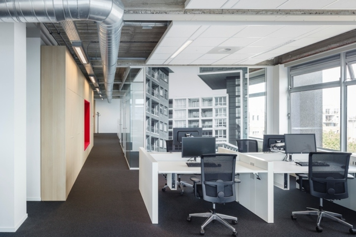 Stadsdeel nieuw west office by fokkema partners for Office design open concept