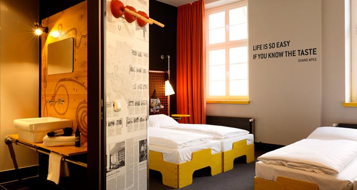 Superbude Ii Hotel Hostel By Dreimeta Hamburg Germany