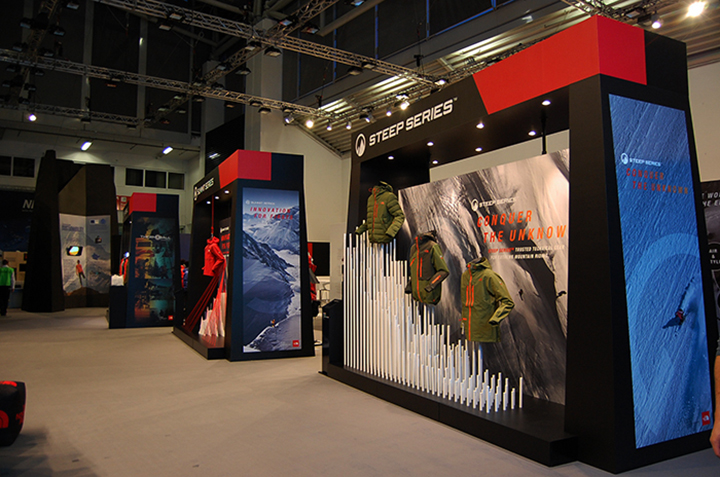 187 The North Face Stand On Ispo Munich 2014 By
