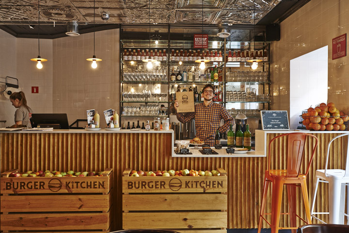 Burger Kitchen Retail Design Blog