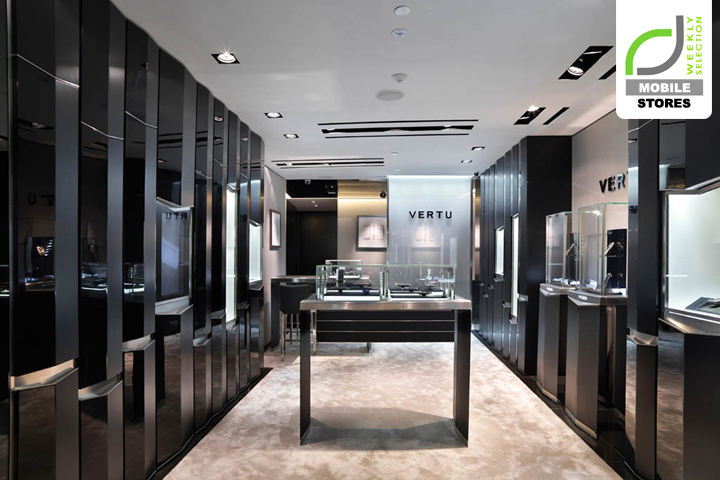 Mobile stores vertu store for Mobel luxus designer