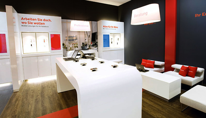 187 Mobile Stores Vodafone Shops Germany