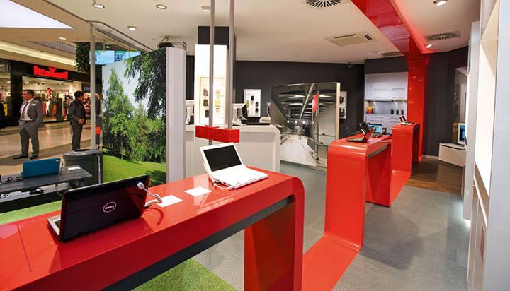 mobile stores vodafone shops germany retail design blog. Black Bedroom Furniture Sets. Home Design Ideas