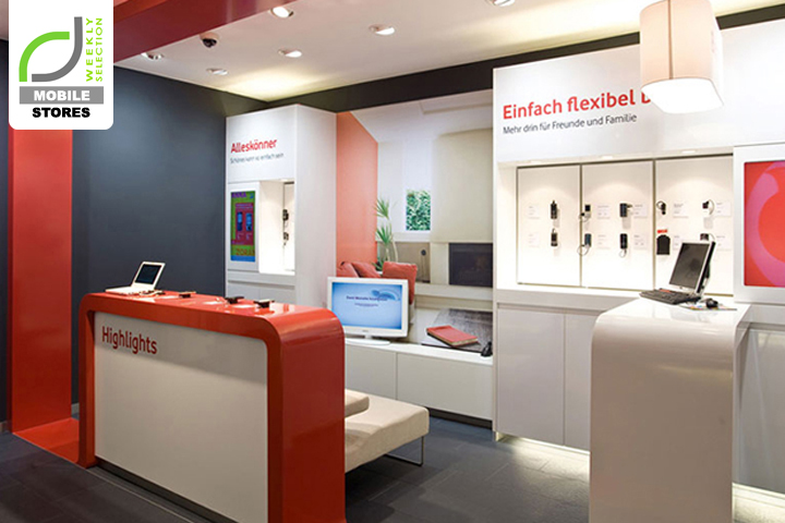 MOBILE STORES Vodafone Shops Germany