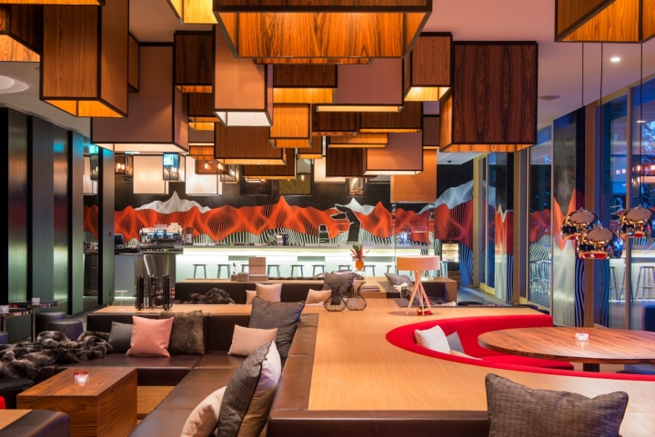 W hotel by concrete architectural associates verbier for Design hotels alps