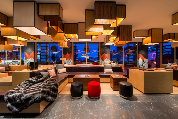 W hotel by concrete architectural associates verbier - The living room lounge indianapolis ...