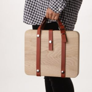 Wooden Carrying Bags by DonguriCo by retail design blog 52ee83b7c28f3