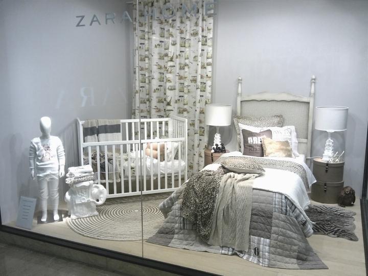 Zara Home windows Jakarta Indonesia Retail Design Blog