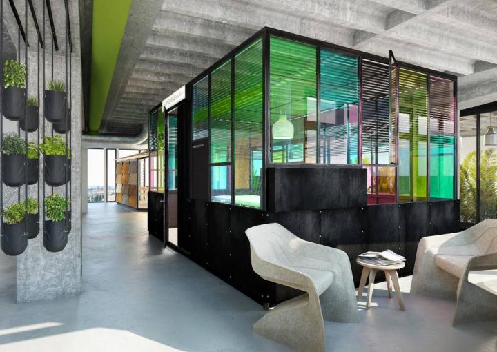 25hours hotel bikini by studio aisslinger berlin. Black Bedroom Furniture Sets. Home Design Ideas