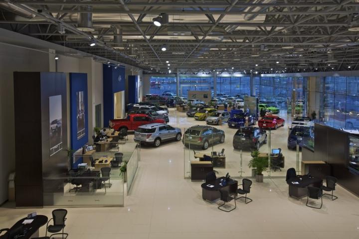 Al tayer motors showroom by godwin austen johnson ansorg for Lincoln motor company headquarters