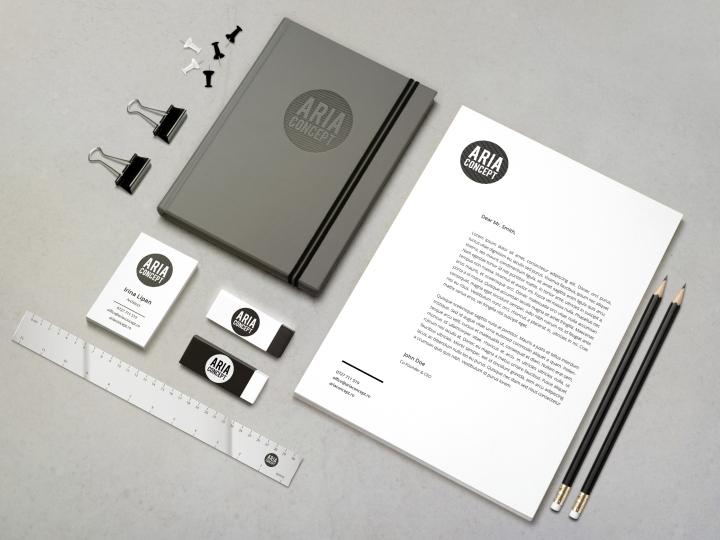 Aria concept branding and indentity by Laboratorio Creativo Retail