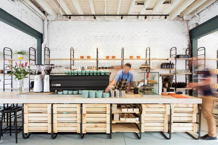 BARRY Coffee And Food By Techne Architects Melbourne