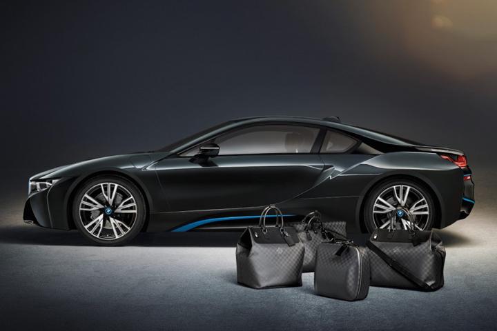 BMW I8 X Louis Vuitton Luggage Set