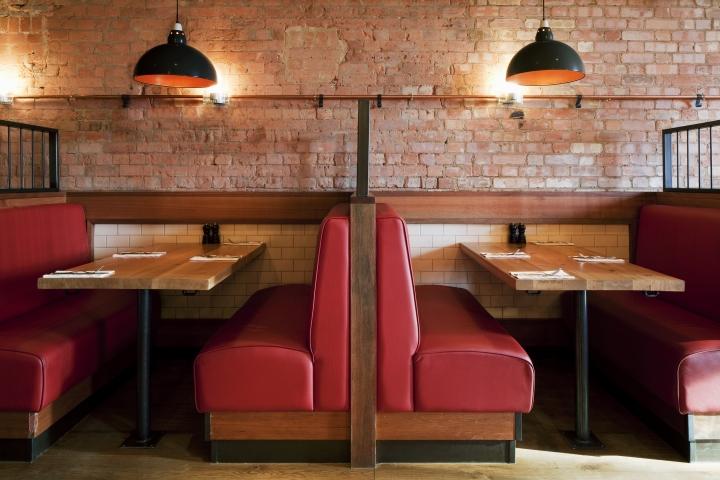 Character Design Course London : Burger lobster restaurant at harvey nichols by designlsm